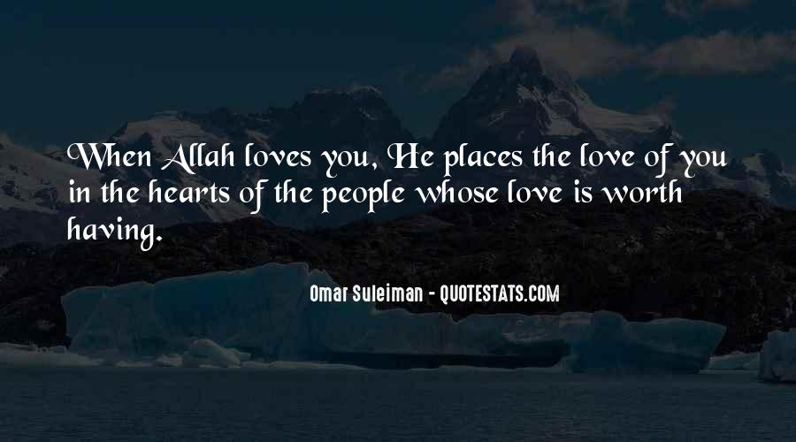 Quotes About Allah's Love #1442167