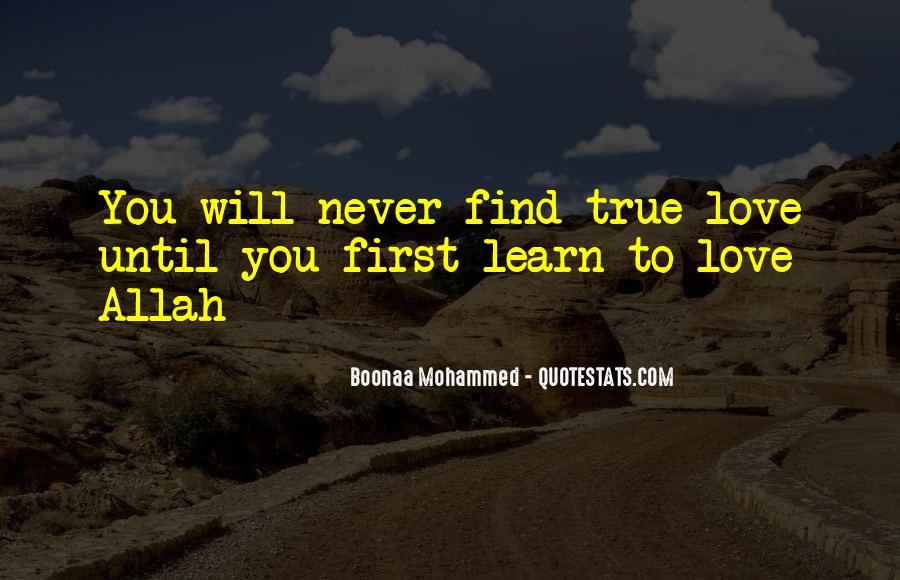 Quotes About Allah's Love #1684598