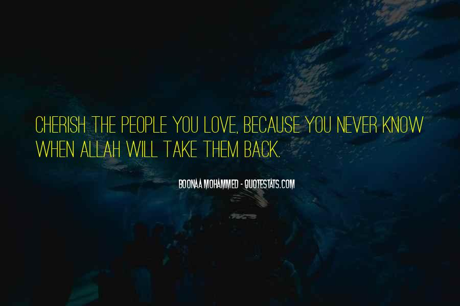 Quotes About Allah's Love #169624