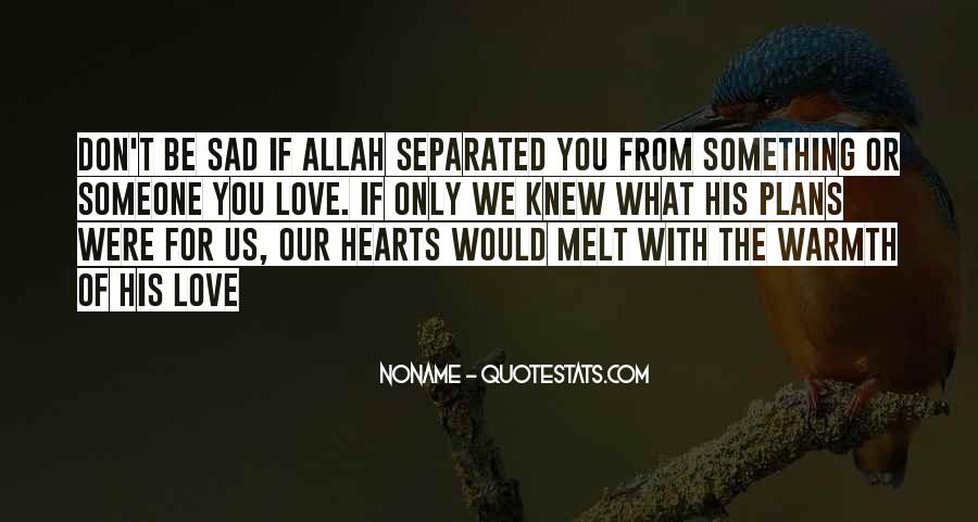 Quotes About Allah's Love #1809949