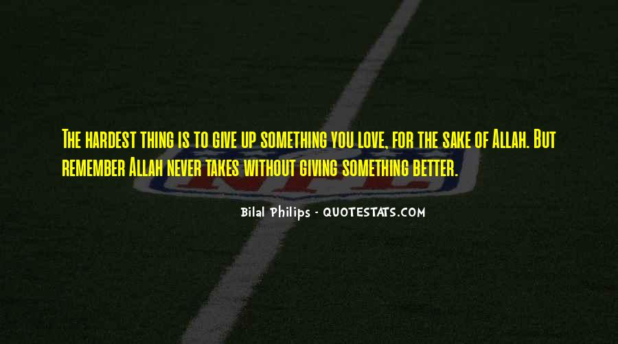 Quotes About Allah's Love #406614