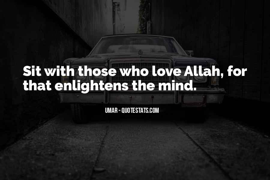 Quotes About Allah's Love #51653