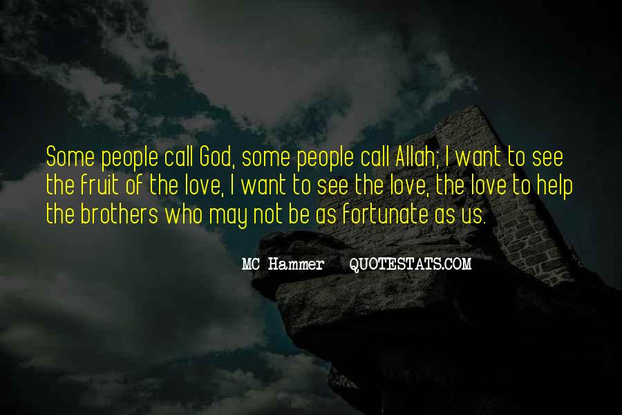 Quotes About Allah's Love #836984
