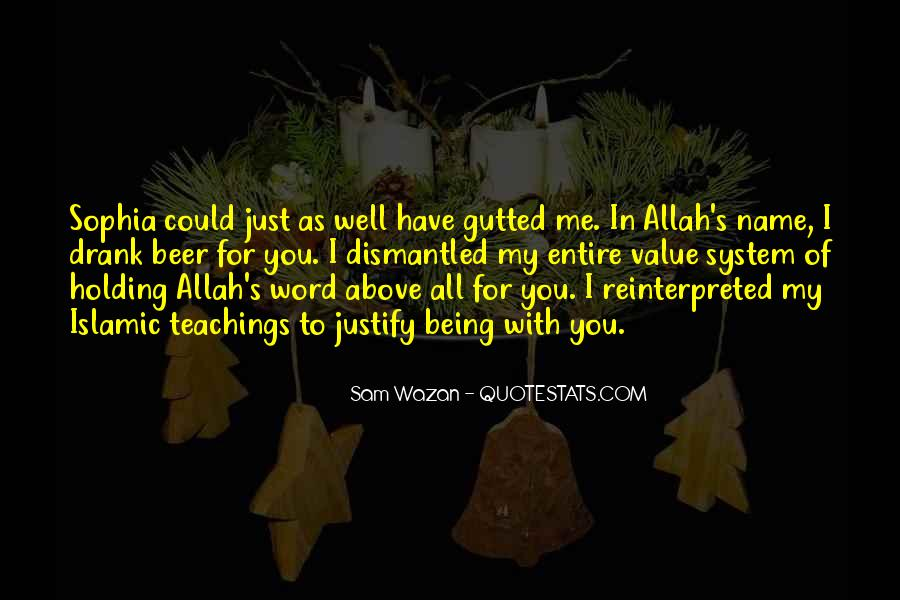Quotes About Allah's Love #948732
