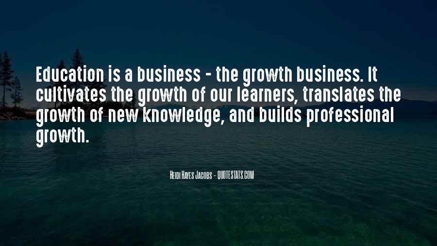 Quotes About Professional Growth #234629