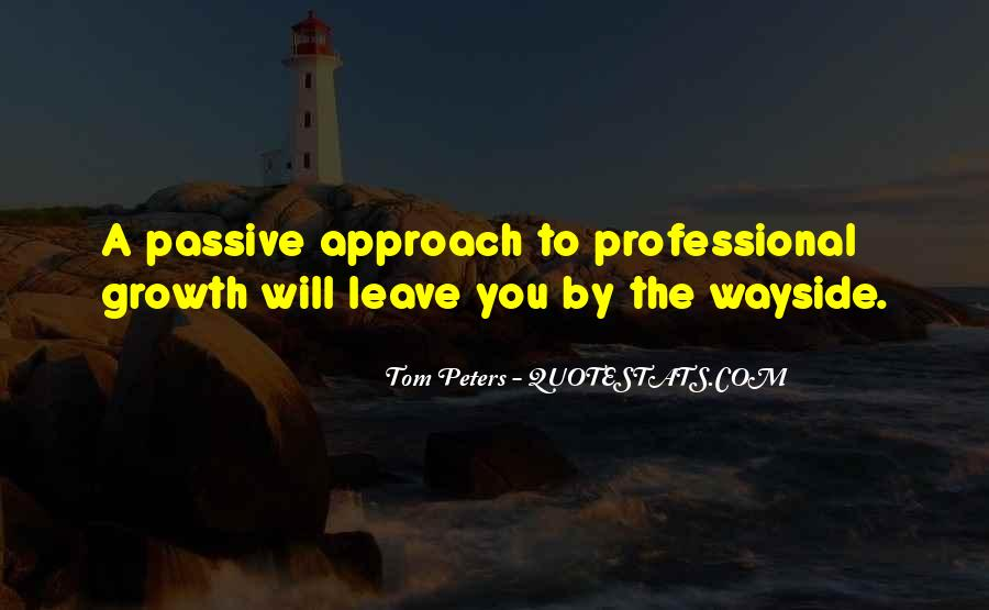 Quotes About Professional Growth #408568