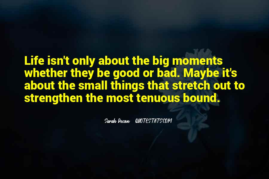 Quotes About Bad Moments #1010031