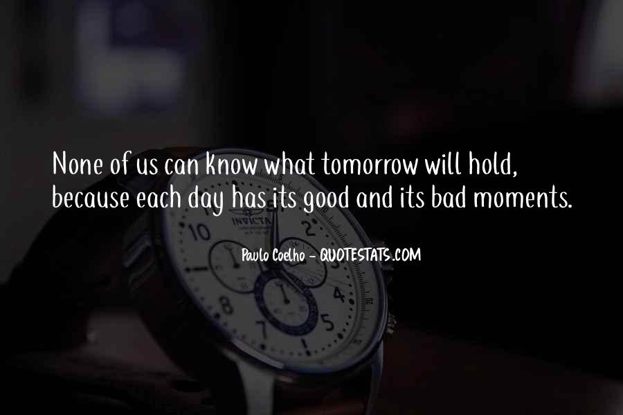 Quotes About Bad Moments #164818