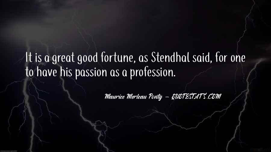 Quotes About Profession And Passion #823439