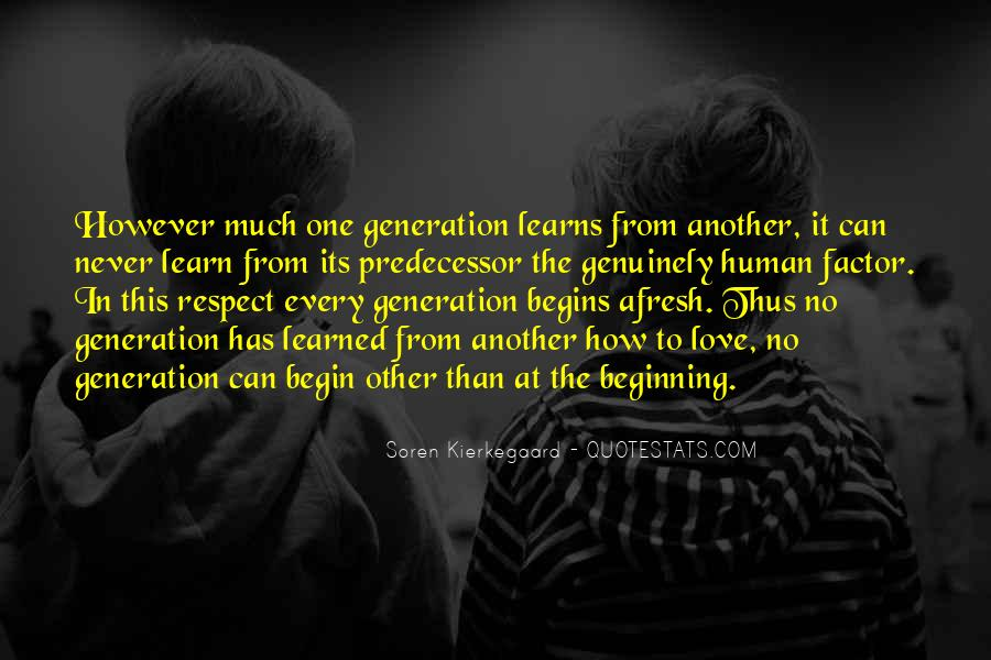 Quotes About Love In This Generation #700101