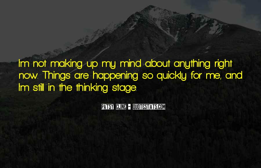 Quotes About Thinking Quickly #1285185