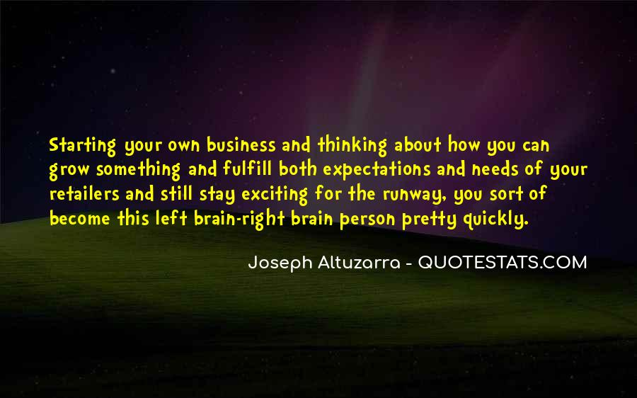Quotes About Thinking Quickly #604515