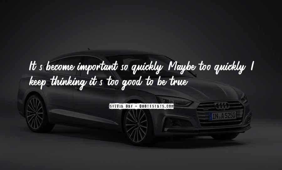 Quotes About Thinking Quickly #989590