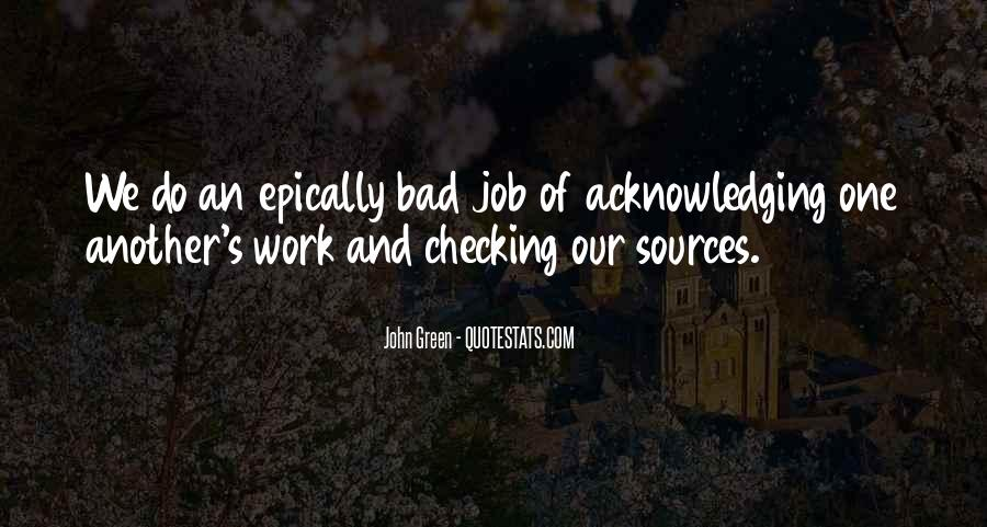 Quotes About Checking Your Work #1830927