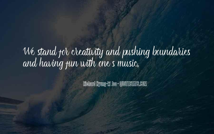 Quotes About Music And Creativity #1139297