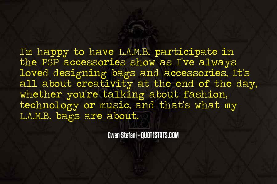 Quotes About Music And Creativity #140242