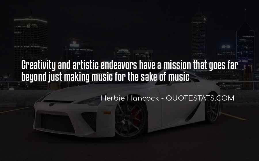 Quotes About Music And Creativity #725039
