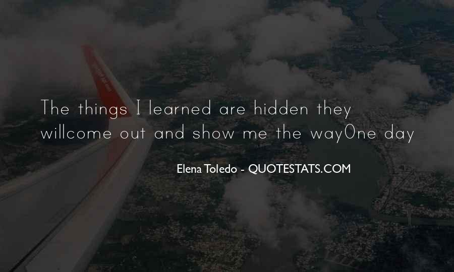 Quotes About Toledo #102360