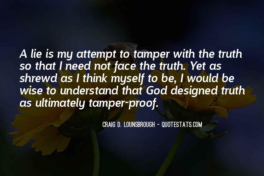 Top 35 Quotes About Tampering: Famous Quotes & Sayings About Tampering