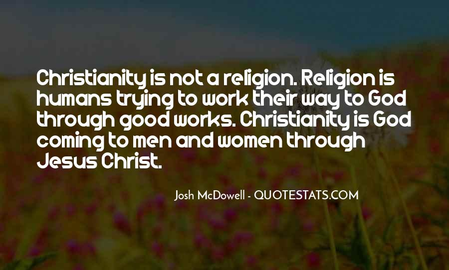 Quotes About Christianity And Religion #229056