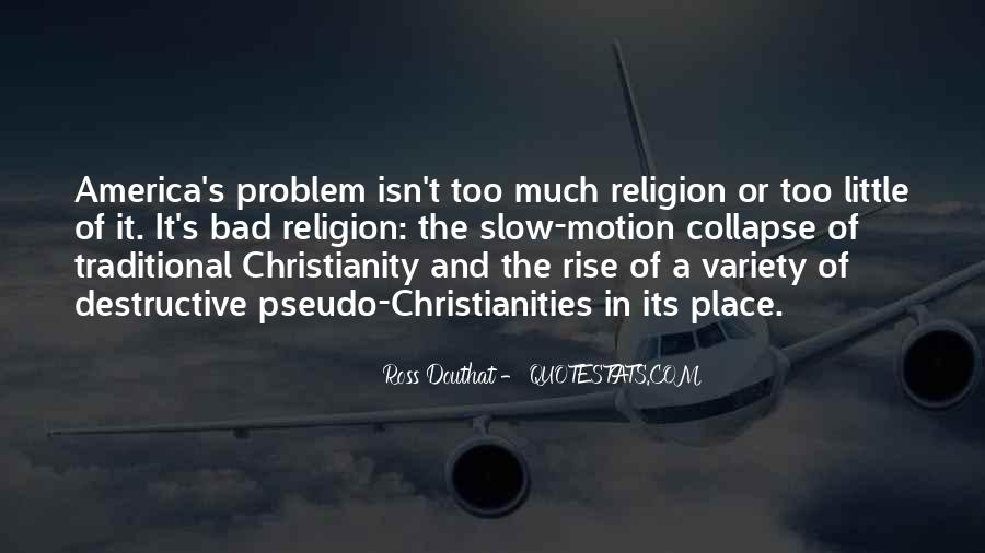 Quotes About Christianity And Religion #90312