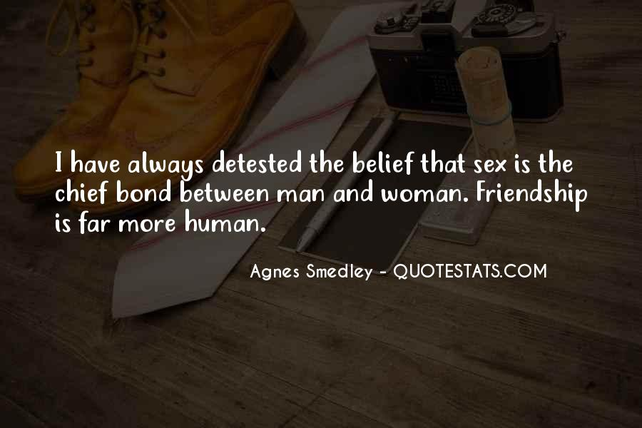 Quotes About Friendship Between Man And Woman #364292