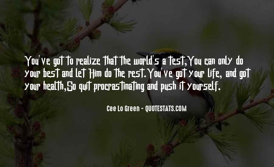 Quotes About Procrastinating #1311793