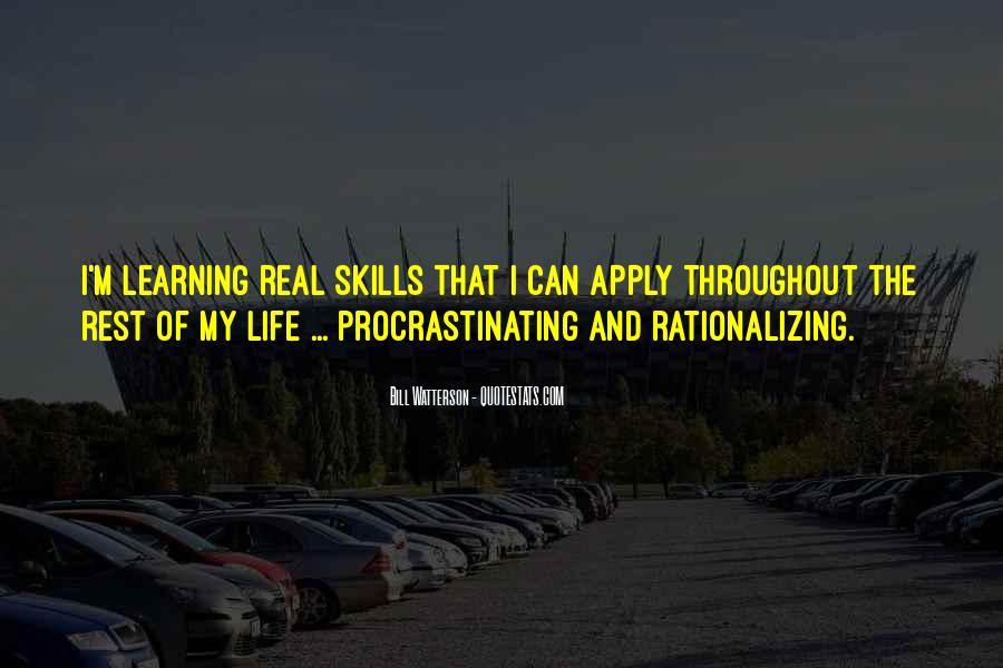 Quotes About Procrastinating #1567372
