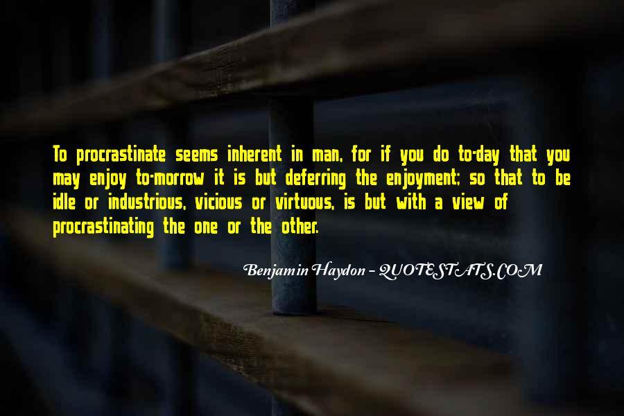 Quotes About Procrastinating #1841478