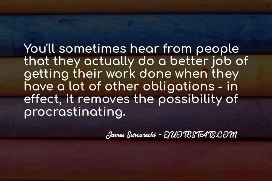Quotes About Procrastinating #254211