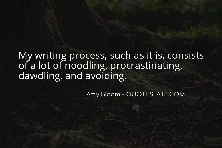 Quotes About Procrastinating #341091
