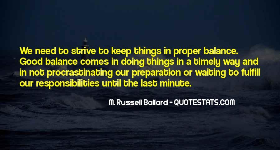 Quotes About Procrastinating #375026