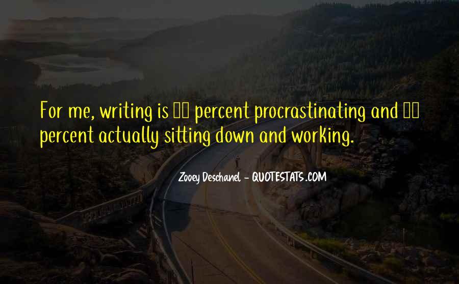 Quotes About Procrastinating #463868