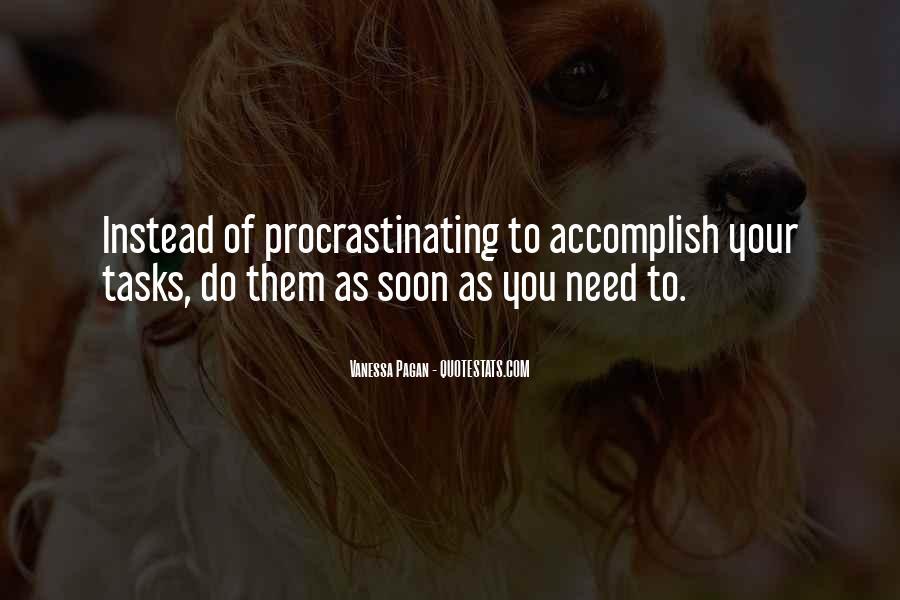 Quotes About Procrastinating #593971