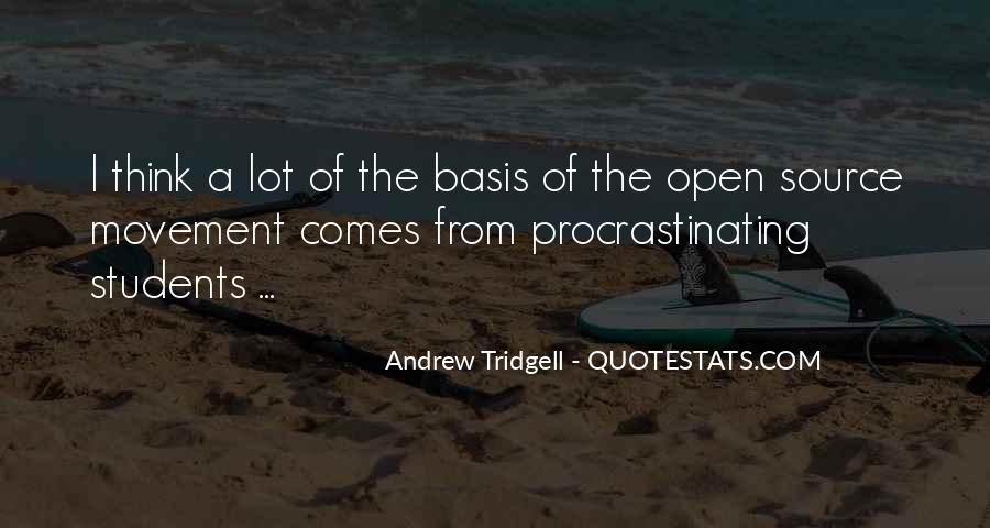 Quotes About Procrastinating #838171