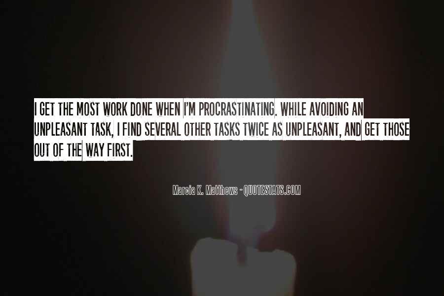 Quotes About Procrastinating #951595