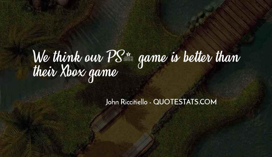Quotes About Xbox #1004664