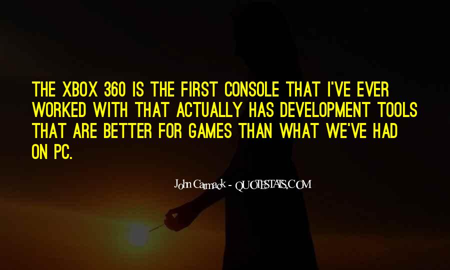Quotes About Xbox #112539