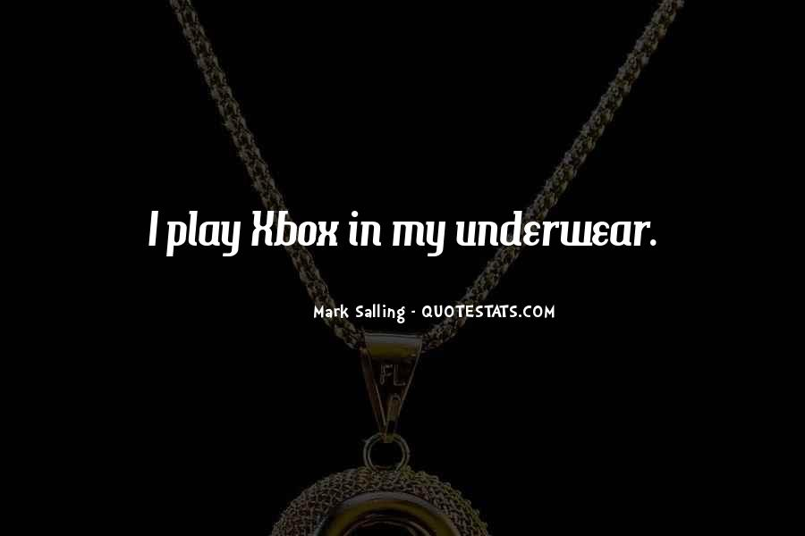 Quotes About Xbox #135934