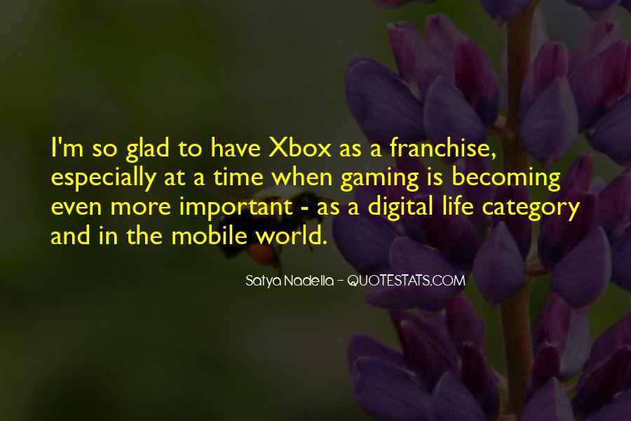 Quotes About Xbox #453327