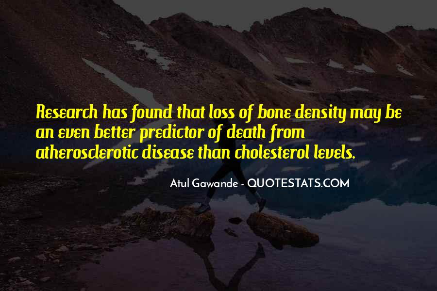 Quotes About Cholesterol #1038809