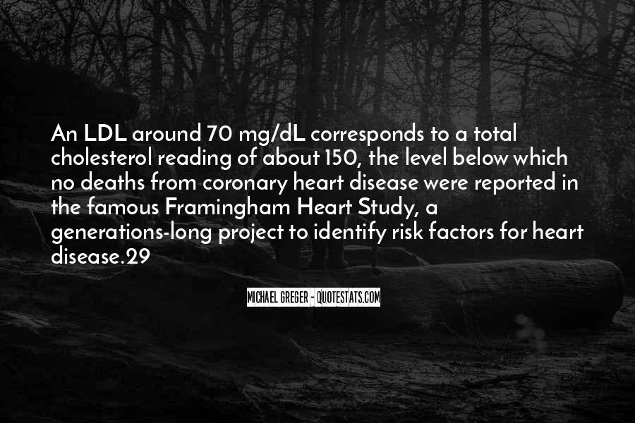 Quotes About Cholesterol #1056202