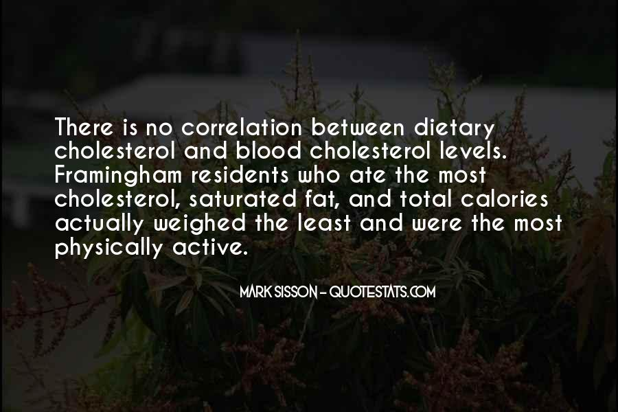 Quotes About Cholesterol #308028