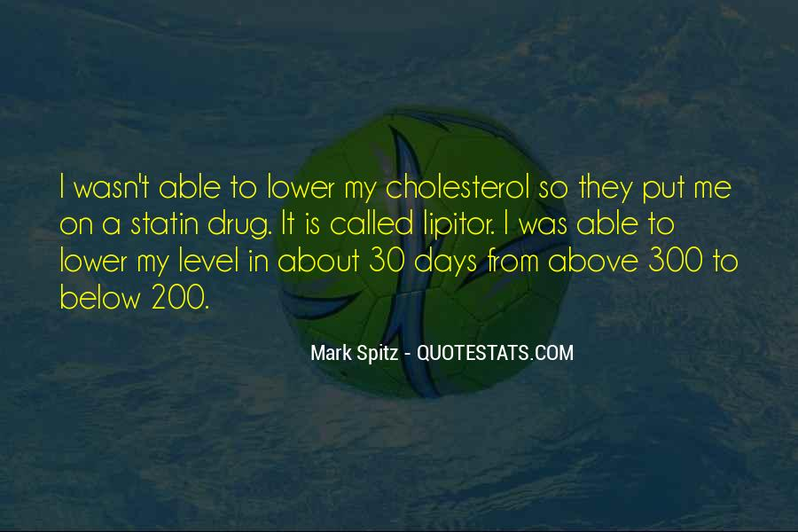 Quotes About Cholesterol #869877