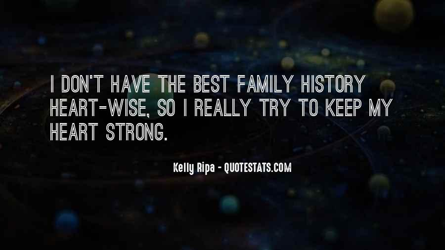 Quotes About Strong Heart #104711
