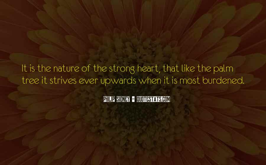 Quotes About Strong Heart #200270