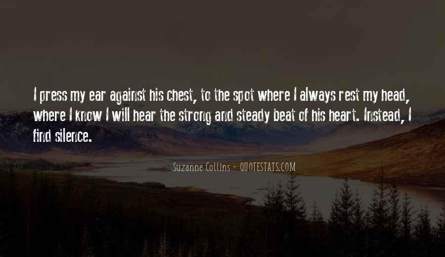 Quotes About Strong Heart #27247