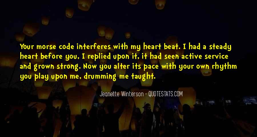 Quotes About Strong Heart #328312