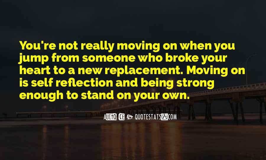 Quotes About Strong Heart #338922