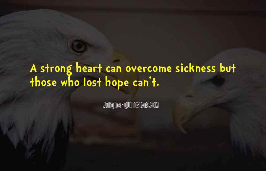Quotes About Strong Heart #447976